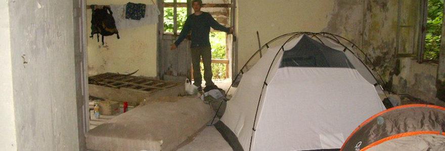 maison squattée